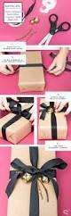 diy gift wrapping master the simple black bow stylecaster