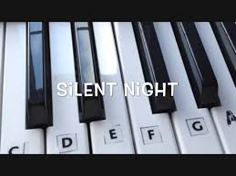 how to play silent night on the keyboard youtube