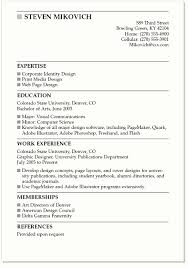 Cover Letter Resume Sample by 2016 New Resume Format Resume Example Graduate College Graduate