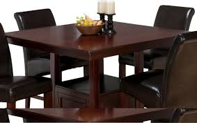 counter table with storage miraculous jofran tessa chianti square counter height table with