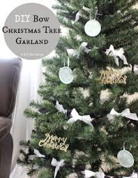 White Bows For Tree Home By Hattan S Twelve Days Of Day Five Home By Hattan