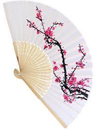 design your own church fans amazon com generic 1xjapanese design silk handheld folding fan