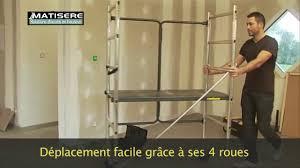 Petit Echafaudage Roulant by Echafaudage Roulant Domestique Echafaudage Direct Youtube