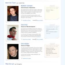 Resume Bio Examples by Meet The Team Pages Examples And Trends Smashing Magazine