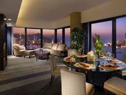 beautiful interior design with water view wallpaper allwallpaper