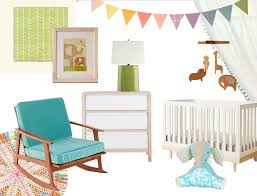 Modern Nursery Curtains A Lovely Lark A Colorful Modern Nursery