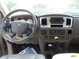 2007 dodge ram 2500 slt mega cab 4x4 khaki dashboard photo