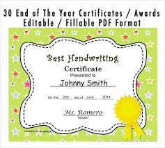 preschool graduation certificate 9 graduation certificate templates sles exles format