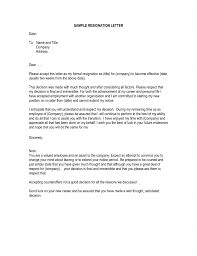 resignation letter format terrific resignation letter due to