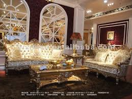 European Living Room Furniture Gold Living Room Chairs Modern House Sofa Set Loveseat