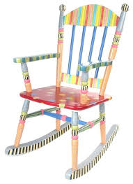 wooden child rocking chair full size of toddler hand painted plans