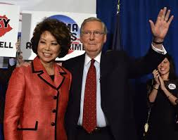 Senators Wife Mitch Mcconnell U0027s Wife Sits On The Board Of A Group Working To
