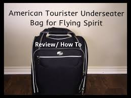 spirit baggage fees american tourister underseater bag for flying spirit youtube