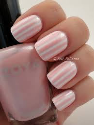 50 lovely pink and white nail art designs tape nail designs