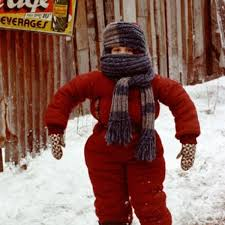 a christmas snow randy snow suit a christmas story 2 383x600 nature for kids