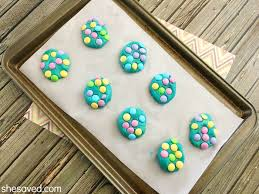 colorful spring cookies shesaved