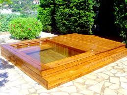 jacuzzi bois exterieur pour terrasse fabricant de piscine en bois et jacuzzi spa à toulon