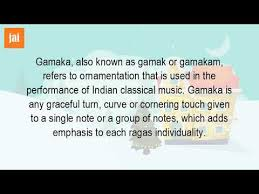 what is a gamaka