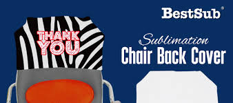 Chair Back Cover Sublimation Chair Back Covers From Bestsub New Products What U0027s