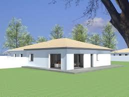 plan de maison de plain pied avec 4 chambres plan maison contemporaine pyrénées orientales 66 plan villa