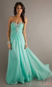 turmec strapless mint green prom dress