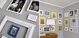 picture hanging corner gallery wall