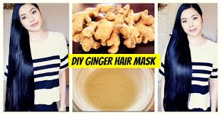 diy ginger hair mask for hair growth natural hair loss treatment