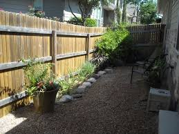 attractive decoration backyard with rock garden ideas small
