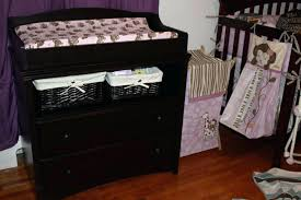 crib changing table dresser combo baby plans furniture design