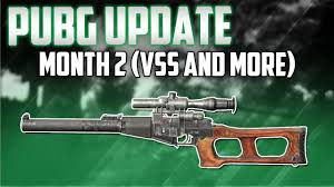pubg patch notes playerunknown s battlegrounds patch notes month 2 update vss