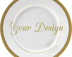 personalized dinnerware custom dinnerware etsy