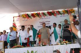 D H Flagging Railway Minister Launches Various Services And Facilities On A