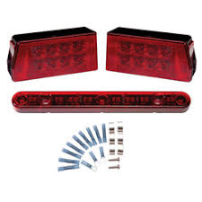 submersible led boat trailer lights grote industries led tail lights for trailers over 80 w west marine