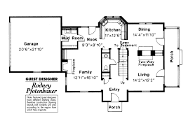 colonial house plans rossford associated designs plan 42 006 flr1