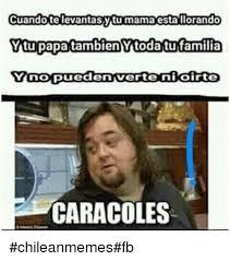 Chilean Memes - cuando televantasytumama estallorando ytupapatambien ytodatufamilia