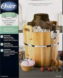 oster wooden bucket ice cream maker 4 quart 1 0 ct walmart com