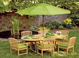 Lime Green Patio Furniture by Bright Green Patio Umbrellas Stand Center Wood Patio Furniture