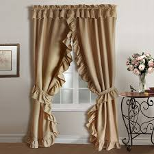 Curtains With Ruffles Ruffled Curtains For A Dreamy Look Drapery Room Ideas Ruffled