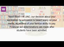 Need Blind Admissions Policy Is Unc Chapel Hill Need Blind Youtube