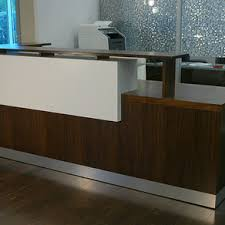 Quilted Reception Desk Reception Desks For Offices Custom Reception Counters