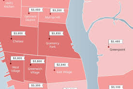 Nyc Tax Maps Mapping The Cheapest U0026 Priciest Places To Rent In Nyc Curbed Ny