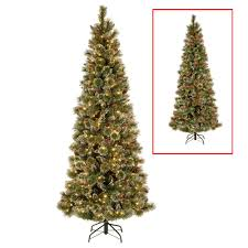 national tree company 7 5 ft powerconnect glittering pine