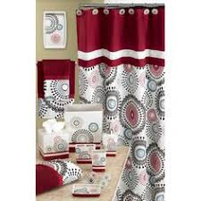 burgundy u0026 gold daphne shower curtain shower curtains pinterest