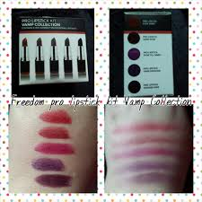 makeup artist collection freedom pro v collection lipstick review leanne furley makeup