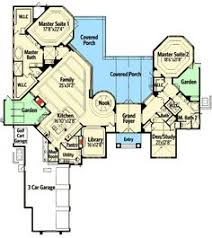 Dual Master Suite Home Plans Dual Master Suites 58566sv Mountain Vacation 1st Floor