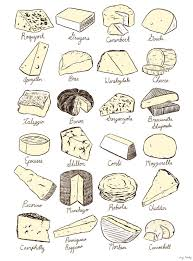 cheeses artwork printables and designs pinterest