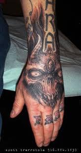 tattoos by trerrotola skull