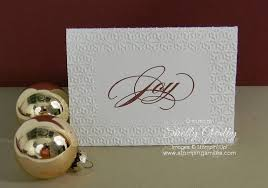 need a quick to make elegant christmas card the sounding joy card