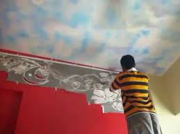 Hyderabad Wall Painting Stencils Fabulous Wall Stencils Stencil - Designer wall paint