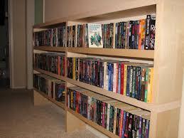 low narrow bookcase slim paperback book case ikea hackers ikea hackers